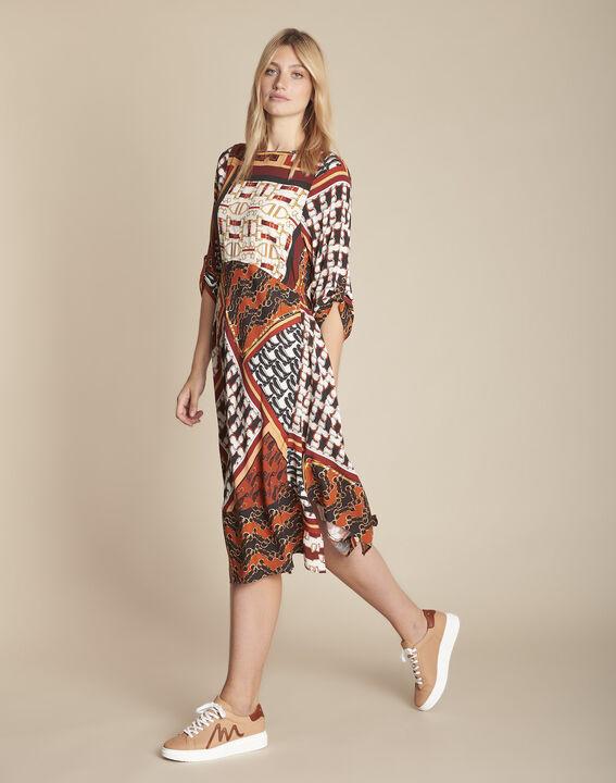 Robe imprimé foulard Isadora PhotoZ | 1-2-3