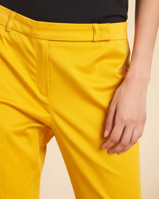 Rubis 7/8 length yellow trousers (1) - 1-2-3