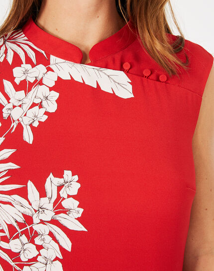 Asmar red printed dress (3) - 1-2-3
