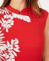 Robe rouge imprimée Asmar (3) - 1-2-3
