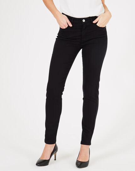 Oliver 2 black ⅞-length trousers (3) - 1-2-3