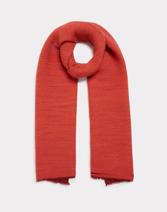 Elila orange scarf (1) - 1-2-3