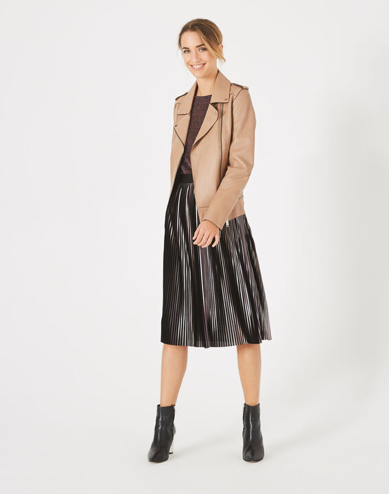 Fly trendy pleated skirt (3) - 1-2-3