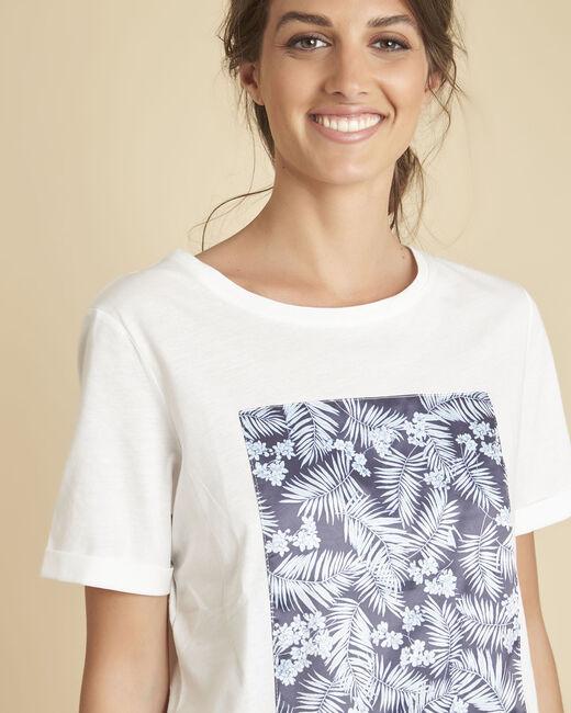 Tee-shirt blanc imprimé Elixir (1) - 1-2-3