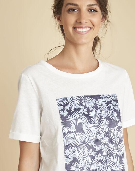 Tee-shirt blanc imprimé Elixir PhotoZ | 1-2-3