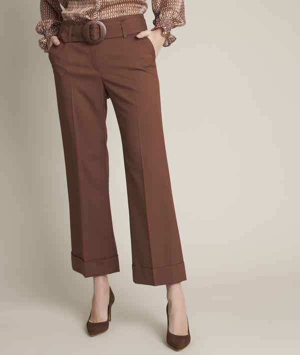 Pantalon droit cropped Ivane PhotoZ | 1-2-3