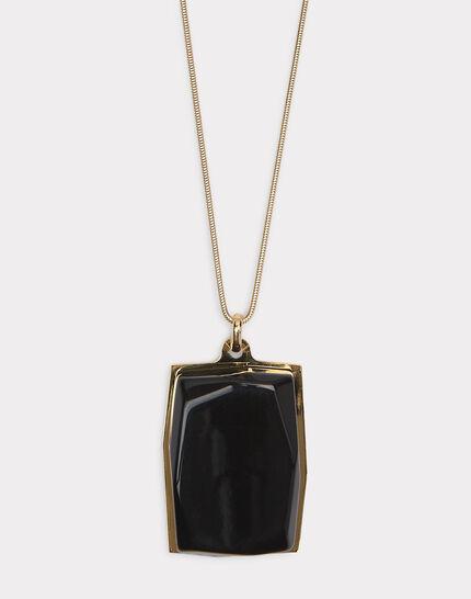Schwarze lange Halskette Ida (1) - 1-2-3