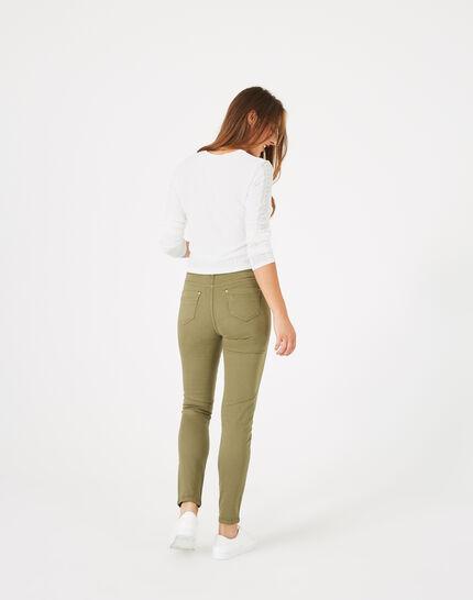 Pantalon kaki 7/8ème Oliver (4) - 1-2-3