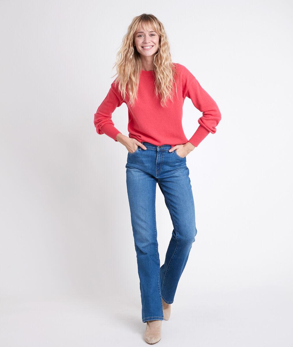 Pull en laine responsable rose Alanis PhotoZ | 1-2-3