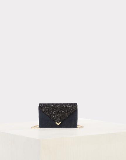 Rosalie blue glittery clutch bag (1) - 1-2-3