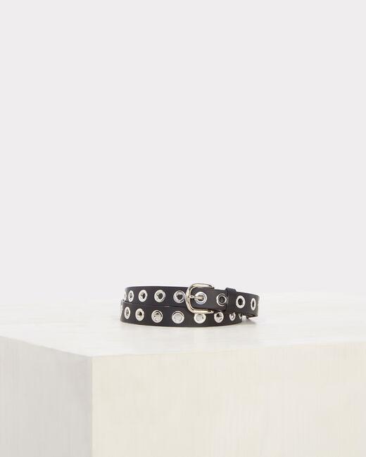 Oratio fine black leather belt (1) - 1-2-3