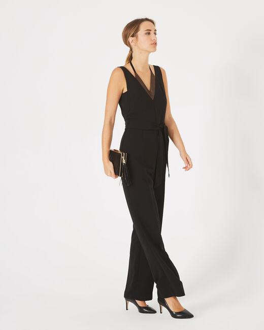 Combinaison pantalon noire Ginger (1) - 1-2-3