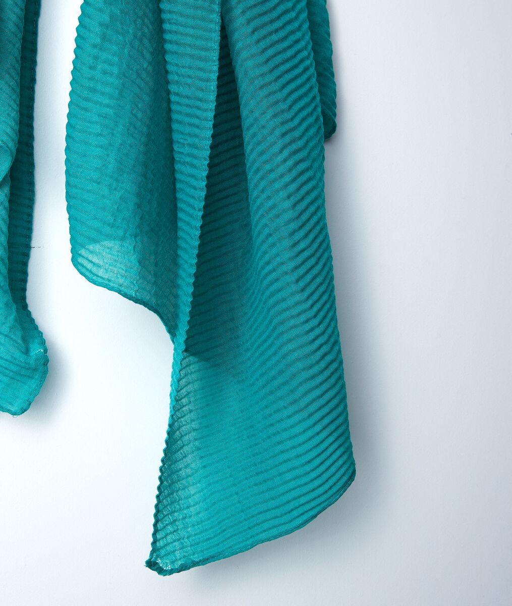 Foulard plissé jade Barry PhotoZ | 1-2-3