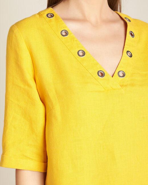 Robe soleil en lin Pavot (1) - 1-2-3
