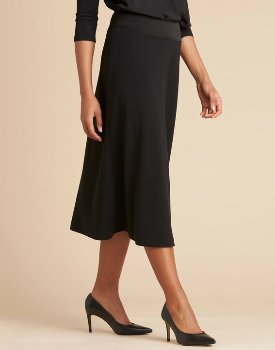 Frost long black pencil skirt (3) - 1-2-3