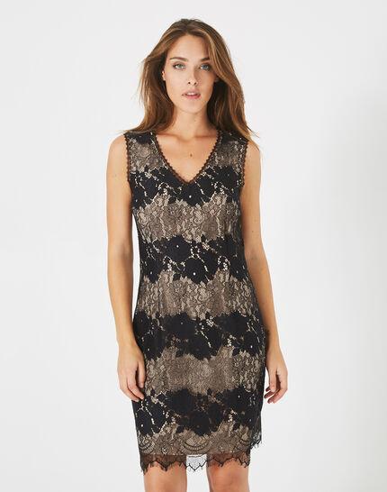 Francesca black lace dress (3) - 1-2-3