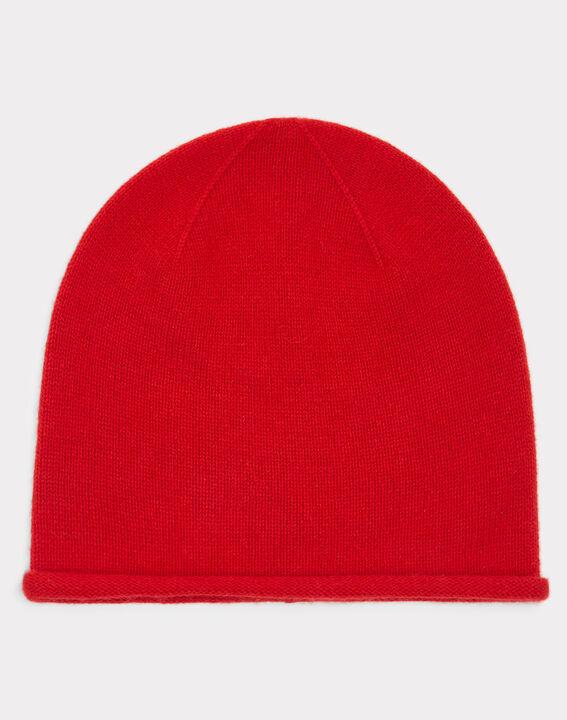 Bonnet rouge en cachemire Tilleul PhotoZ   1-2-3