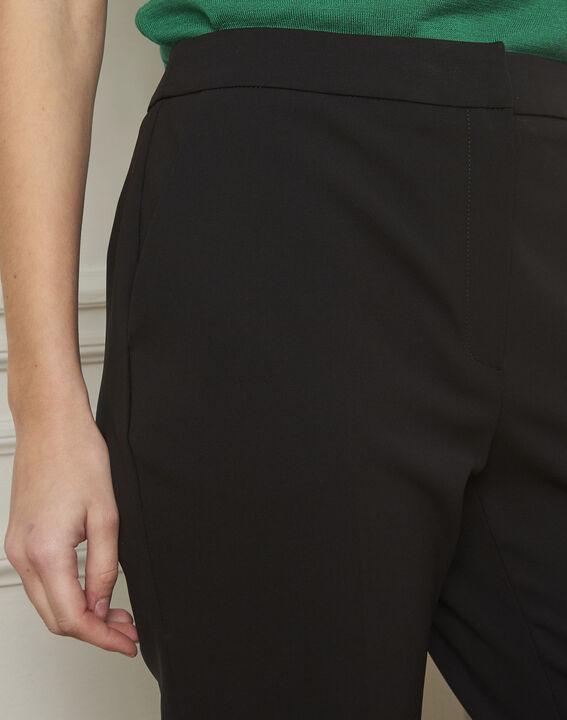 Pantalon noir évasé Gaston (4) - Maison 123