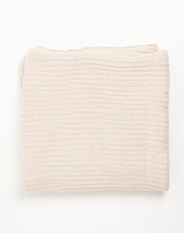 Foulard nude avec fils métallisées Flash (1) - 1-2-3