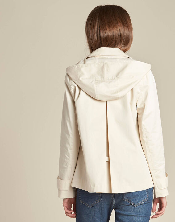 Trench court beige Kisaure (4) - 1-2-3