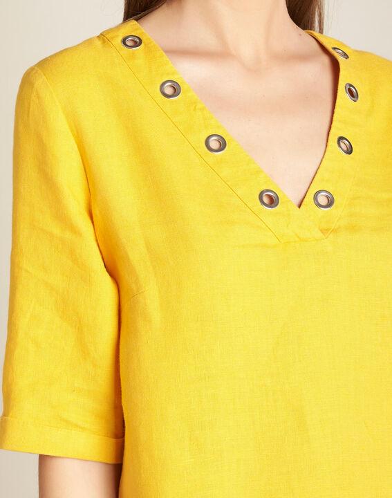 Robe soleil en lin Pavot PhotoZ | 1-2-3