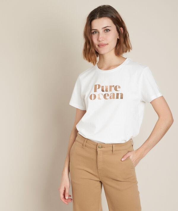Tee-shirt sérigraphié en coton biologique Dream PhotoZ   1-2-3