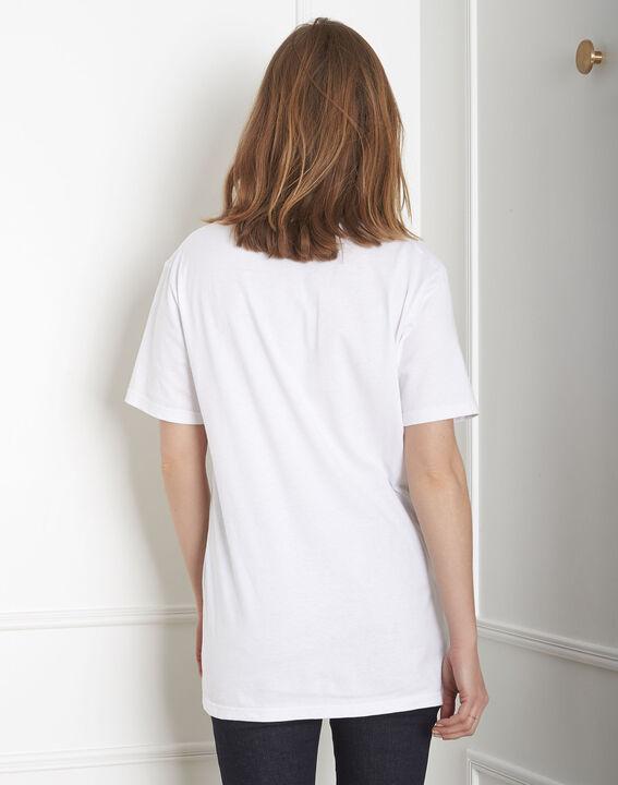 Tee-shirt écru imprimé Palo Maison FT (3) - Maison 123
