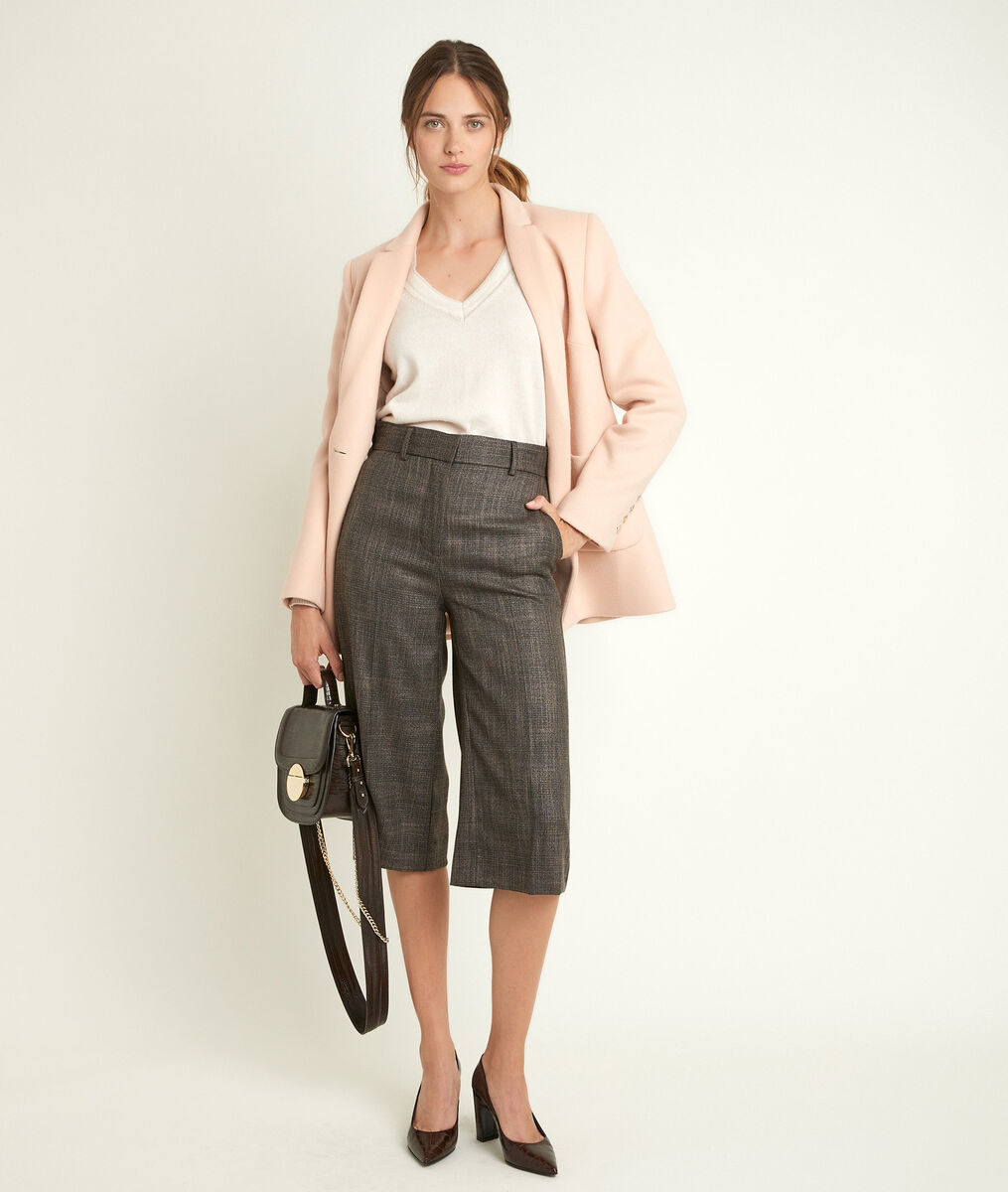 Jupe culotte à carreaux Monica PhotoZ   1-2-3