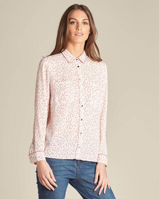 Davies pale pink printed shirt (2) - 1-2-3