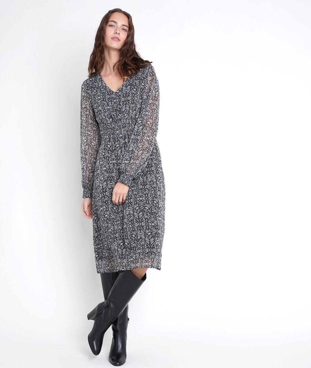 Robe imprimé fleuri Ninon bis PhotoZ | 1-2-3