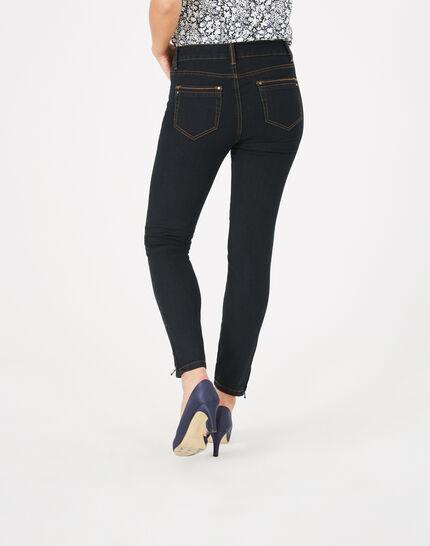 Schwarze 7/8-Jeans Pia (5) - 1-2-3