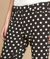 Valero polka dot tapered trousers PhotoZ | 1-2-3