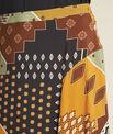 Arome long printed patchwork skirt PhotoZ | 1-2-3