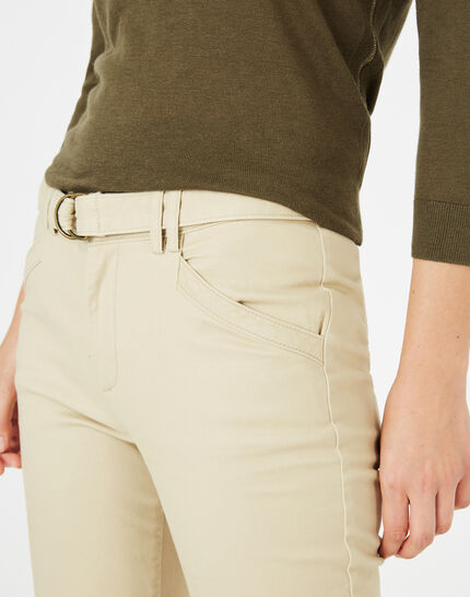 Kloe camel 7/8 length trousers (3) - 1-2-3