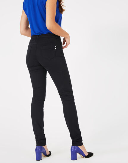 Pantalon satin noir William (3) - 1-2-3