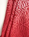 Rotes Seidenhalstuch mit Animal-Print Anouk (1) - 1-2-3