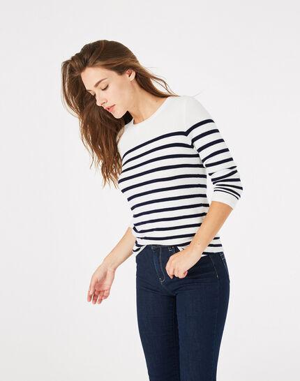 Panama navy-style sweater (3) - 1-2-3