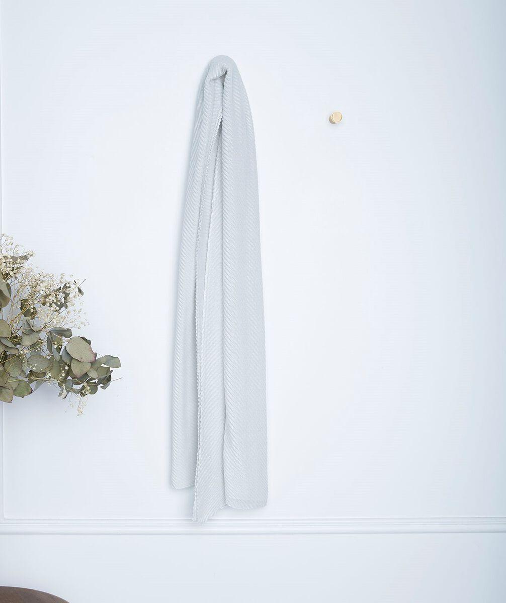 Foulard plissé écru Greta PhotoZ | 1-2-3