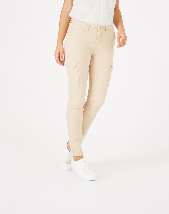 Damien beige combat trousers (2) - 1-2-3