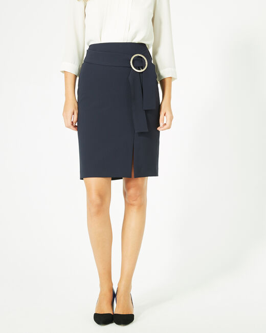 Feeling skirt with buckled fabric (1) - 1-2-3