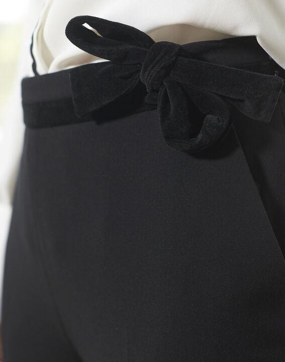 Pantalon noir cigarette Horest (3) - 1-2-3