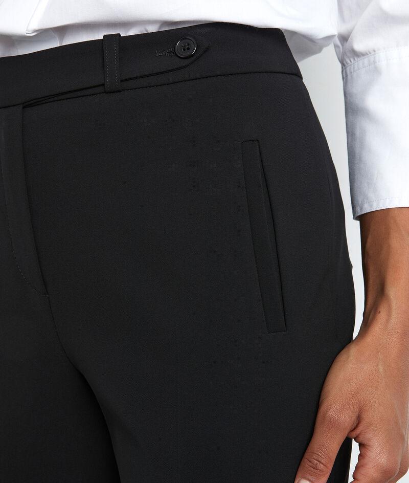 Pantalon de tailleur noir Lara PhotoZ | 1-2-3
