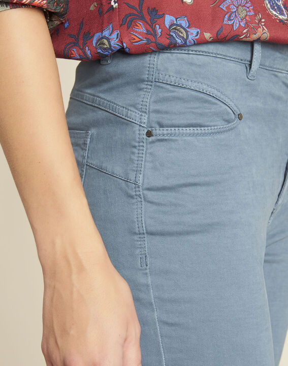 Jean bleu slim taille haute Honore (3) - 1-2-3