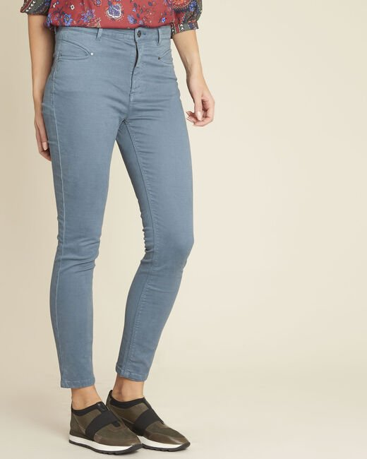 Jean bleu slim taille haute Honore (2) - 1-2-3