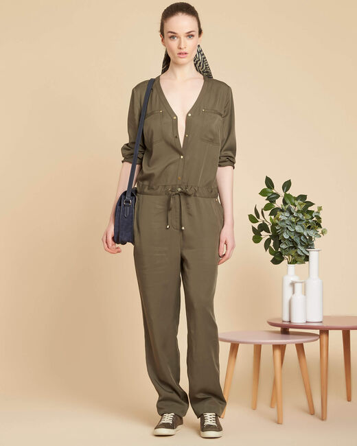Palace soft khaki jumpsuit (1) - 1-2-3