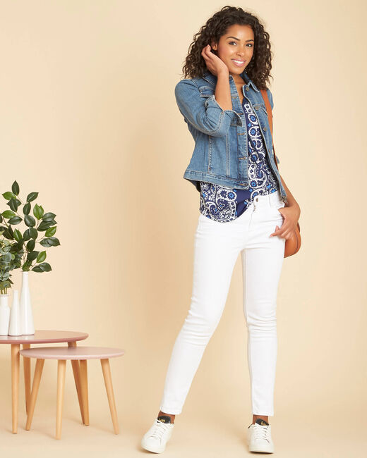 Candie zippered denim jacket (1) - 1-2-3