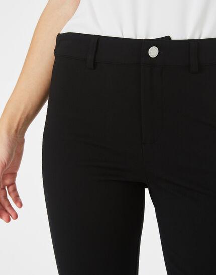 Pantalon noir slim Kali (3) - 1-2-3