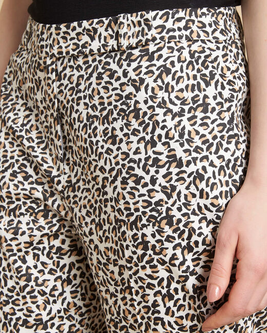 Rubis camel printed trousers (1) - 1-2-3