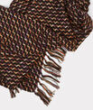 Eliott black tweed scarf PhotoZ | 1-2-3