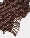 Eliott black tweed scarf (1) - 1-2-3
